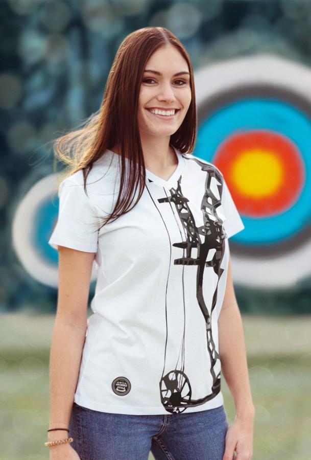 Bogensport Damen Archery T-Shirt Compound