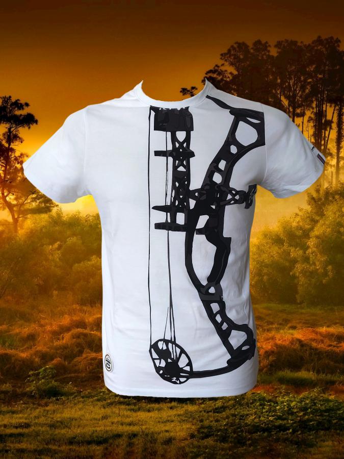 Bogensport Herren T-Shirt Compound