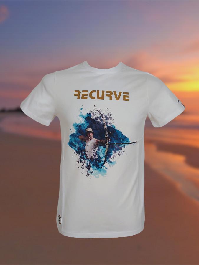 Bogensport Herren T-Shirt Recurve